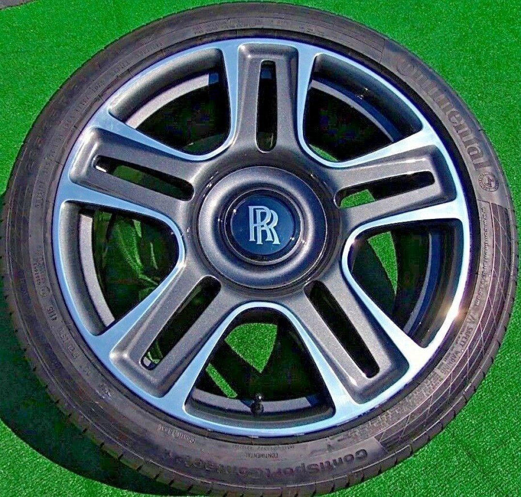 1 X Used Rolls Royce Ghost Wraith Dawn Complete Wheel Center Cap Special Offer
